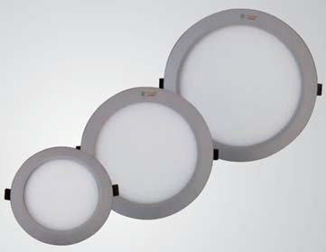led panel leuchte rund d 180 mm. Black Bedroom Furniture Sets. Home Design Ideas