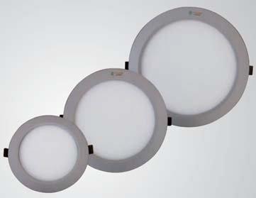 led panel leuchte 15 w rund d 278 mm. Black Bedroom Furniture Sets. Home Design Ideas