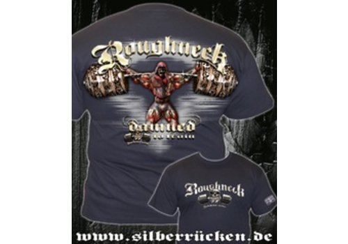 Roughneck Roughneck t-shirt Damned To Train Navy