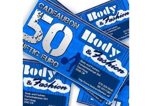 Body and Fashion Body and Fashion cadeaubon