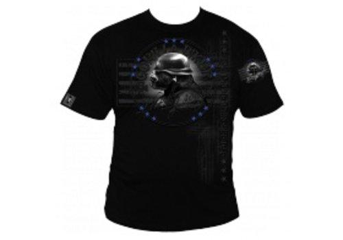 Gorilla Biker GB 23 Wanted Blue T/Shirt