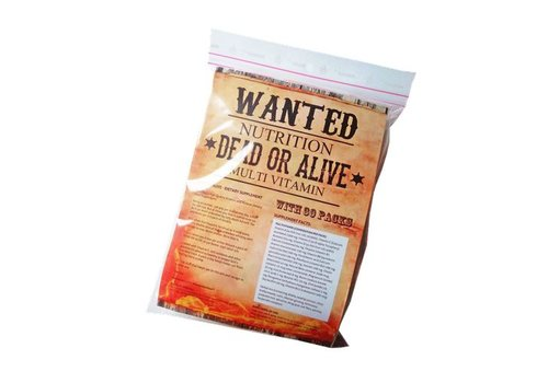 Wanted Nutrition Wanted Nutritiion dead or alive multi-vit