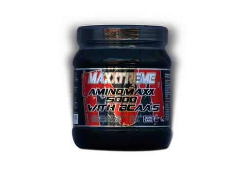 MaXXtreme Aminomaxx 5000 + BCAA van 24,90 voor 12,50 i.v.m. breuk