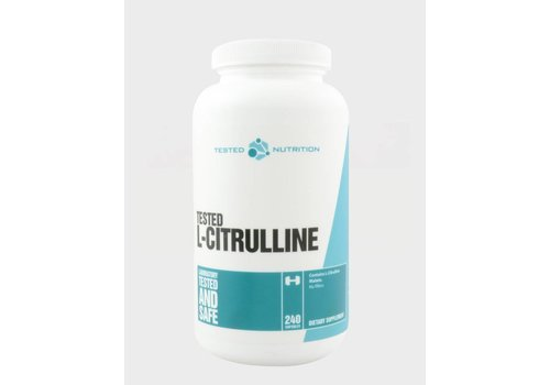 Tested Nutrition L-Citrulline