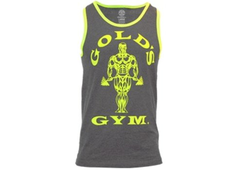 Gold's Gym Muscle Joe Contrast Athlete Tank