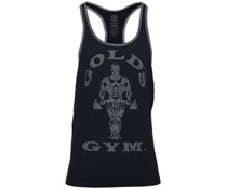 Gold's Gym Muscle Joe Contrast Stringer