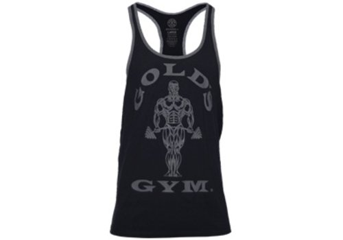 Gold's Gym Muscle Joe Contrast Stringer