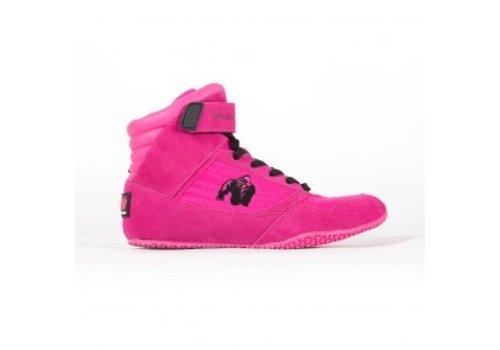 Gorilla Wear Gorilla Wear high tops pink