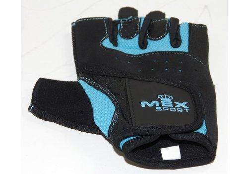 Mex Sport Training Gloves Mesh Blue