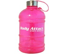 Body Attack Sports Nutrition Water Bottle XL Pink