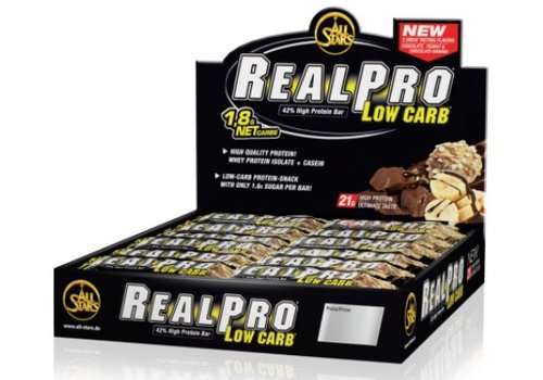All Stars Real Pro Low Carb Bar