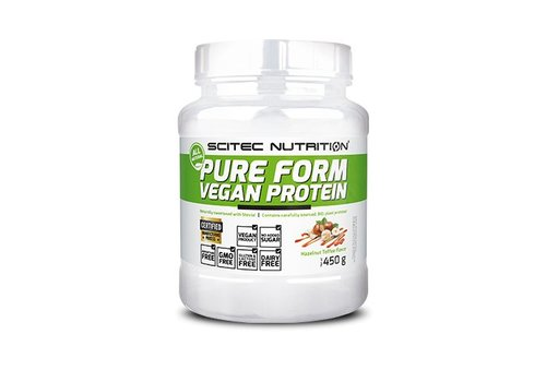 Sci tec Nutrition Pure Form Vegan Protein