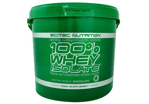 Sci tec Nutrition Scitec Nutrition whey isolaat