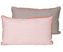 Kussen PT roze/taupe