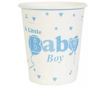 kartonnen beker Baby Boy (10 st.)