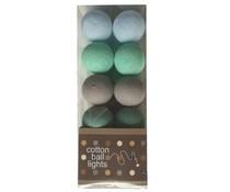 Cotton Ball Lights minty grey
