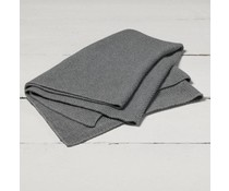 Ledikantdeken mini relief grey