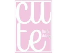 kaartje cute pink