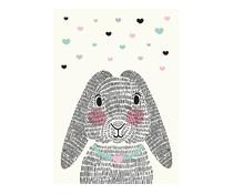 kaartje Mrs Rabbit