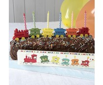 Party train candle holder