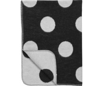 Ledikantdeken Black & White Dots