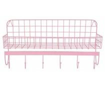 Wire wandrek roze