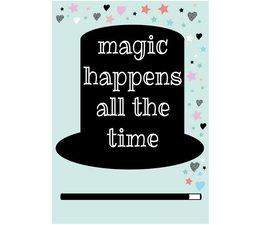 kaartje Magic Happens