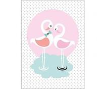 kaartje Flamingo
