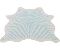 Kleed Zebra blauw