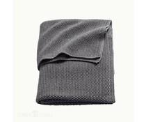 Deken mini knit grijs (wieg)