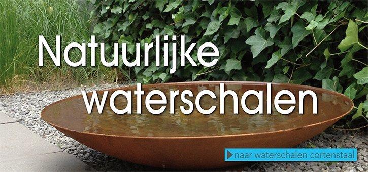 waterschaal cortenstaal