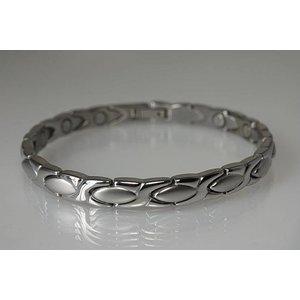 8011S Magnetschmuck Armband für Damen, Stil Silber