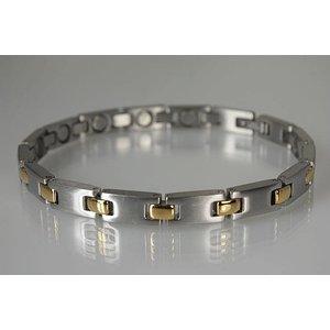 8102B Magnetschmuck Armband für Damen bicolor