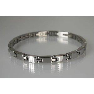 8215S Magnetschmuck Armband für Damen, Stil Silber