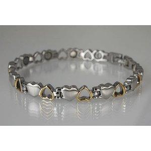 8232B Magnetschmuck Armband in Herzform