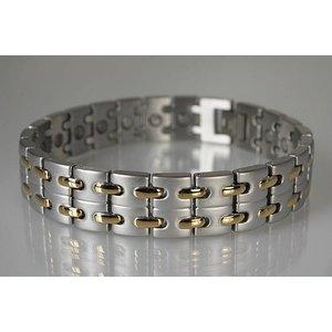 8008B Magnetschmuck Armband für Herren bicolor