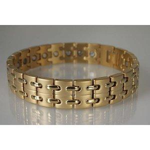 8008G Magnetschmuck Armband für Herren Gold
