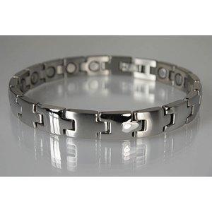 8096S Magnetschmuck Armband Silber