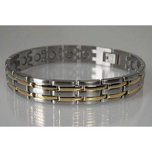 8230B Magnetschmuck Armband für Herren Stil bicolor  Preissenkung!