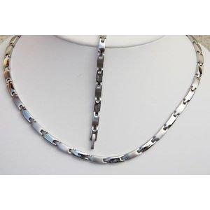 H9031S-Set Magnetschmuck Halskette und Armband im Set