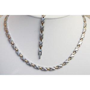 H9038B-Set Halskette und Armband im Set
