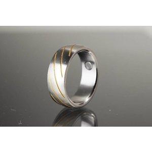R354 Der besondere Magnetschmuck Ring