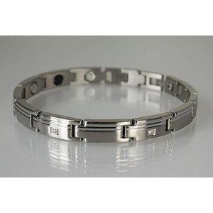 G8563SZ Germanium Armband Silber