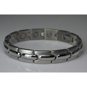 8571S Damen Magnetarmband Silber