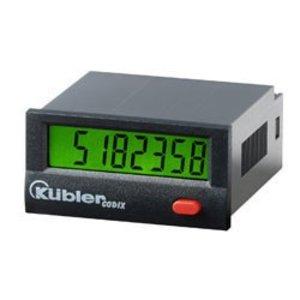 Kübler Codix 131, pulse counter, LCD display