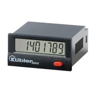 Kübler Codix 142, service counter, LCD display, with output