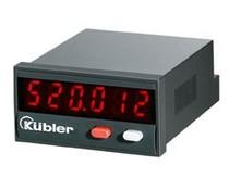 Kübler Codix 520, totaal teller, LED display, op- of aftellend