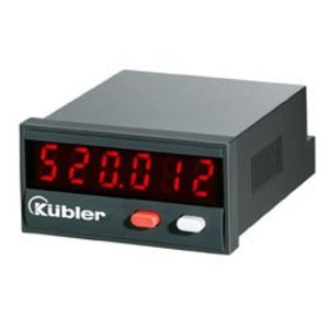 Kübler Codix 520, total counter, LED display, up- and downcounting