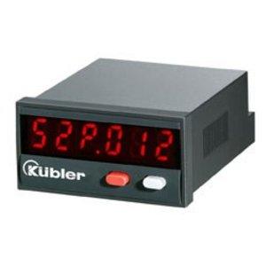 Kübler Codix 52P, multifunction meter, LED display, speedometer