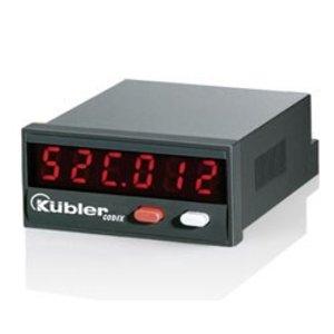 Kübler Codix 52T, 2-fold pulse counter, LED display, programmable